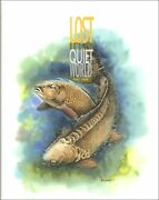 Cook Paul Coarse Fishing Book Lost In A Quiet World Carp Angling Hardback New