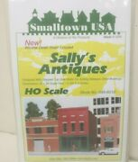 Smalltown Usa 6010 Sallyand039s Antiques Model Railroad Building Kit Ho Scale