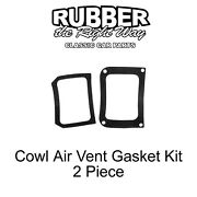 1967 - 1972 Ford Truck Cowl Side Air Vent Gasket Kit