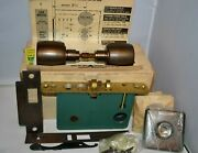 Vintage Russwin Mortise Lock A2059 Rhr - New Old Stock / Original Box And Info