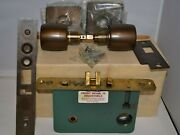 Vintage Russwin Mortise Lock A2056 Lhr - New Old Stock / Original Box