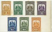 Ontario Canada Tax Transfer 7 Diff. Plate Proof On India Paper Dfp 4/15/20