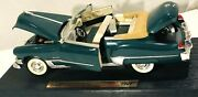 Diecast 1949 Road Legends Green Cadillac Coupe Deville Gold Name Plated
