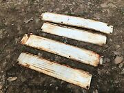 Ih Farmall 460 Complete White Hood Side Cover Panel Set