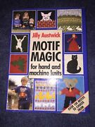 Book Motif Magic For Hand And Machine Knits By Jilly Austwick Knitting Crafts