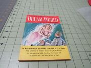Dream World Issue 2 May 1957 Stories Of Incredible Powers Pulp Digest