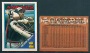 1988 O-pee-chee California Angels Team Set 15 - Mint From Vend Case