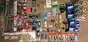 258 Piece Spin Fishing Gear Fly Lures Line Weights Hooks Toaster Forks Nwot