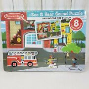 Melissa And Doug Around The Fire Station Sound Puzzle