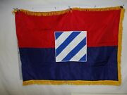 Flag1403 Vietnam Us Army 3rd Infantry Division W9d