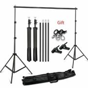 Photo Background Backdrop Support System Kit For Photo Studio Photographs Assist