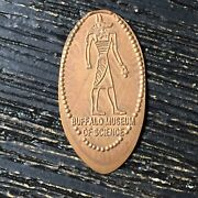 Buffalo Museum Of Science Copper Smashed Pressed Elongated Penny P2845