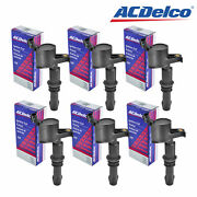 Set Of 6 Acdelco Ignition Coil Bs-c1541 For Ford Mercury Lincoln Explorer 04-11