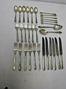 Oneida Silver Duchess Silverplate 32-pc Set Service For 6 + 2 Tablespoons Hollow