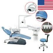 Dental Unit Chair Hard Leather Computer Controlled Fda Ce Approved