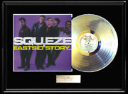Squeeze East Side Story White Gold Silver Platinum Tone Record Album Rare