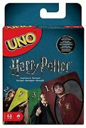 Uno Harry Potter [card Game New Action Cards 112 Cards 2-10 Players] New