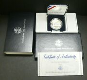 1991 Uso Proof Silver Proof Dollar Commemorative Coin Set With Box And Coa