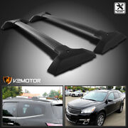 For 2009-2017 Chevy Traverse Roof Rack Rail Cross Bar Luggage Cargo Carrier