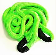 Grip 1-1/4 X 30and039 Kinetic Energy 4x4 Truck Tow Recovery Rope 37422lb Strap Snatch