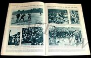 Baseball 1918 Pictorial Navy V Army Game @ King Of England Chelsea World War I