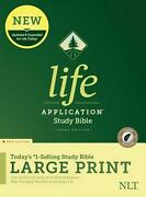 Nlt Life Application Study Bible, Third Edition, Large Print Red Letter, Hardco
