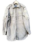 Canadian Helicopter Tactical Shirt Desert Tan Sz 7038 Small R 38r Flame Resist
