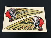 Indian Motorcycle Chief Scout Tow 74 80 Decal Sticker Harley El Fl P29