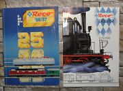 Roco 1986/1987 And 1988/1989 - Catalogues - Trains Rail Tracks Collectible.