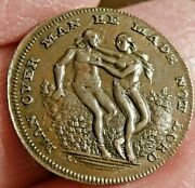 Anti Slavery Token Adam And Eve Man Over Man He Made Not Lord S400