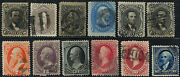 77//277 Early Used Stamp Group - Nice Appearing Cat 3800.00 - Stuart Katz