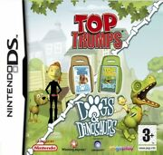 Nintendo Ds Game - Top Trumps Dogs And Dinosaurs Uk En/ger Boxed