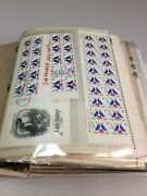 U.s. Booklet Stamp Collection With Rarities 1521.90 Face