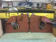 1956 Ford L And R Air Deflector Panels Fender To Radiator