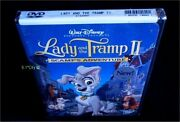 Walt Disney Lady And The Tramp Ii 2 Scamp's Adventure Authentic Dvd New Sealed