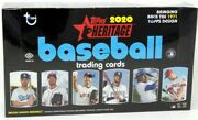 2020 Topps Heritage Baseball Hobby 12 Box Case Blowout Cards