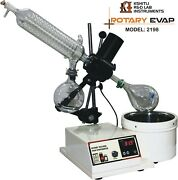 Rotary Vacuum Evaporator With Glass Parts Packed In One Box Free Shipping