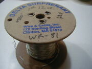 Wr-81 24 Ptfe Teflon Insulated Wire Stranded Silver Plated Copper 500 Ft Nos