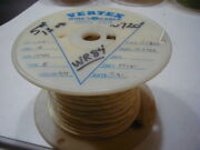 Wr-84 18 Ptfe Teflon Insulated Wire Stranded Silver Plated Copper 720 Ft Nos