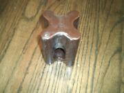Brown Porcelain Guy Wire Power-line Electric Insulators