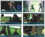 Star Wars Episode 1 Tpm Widevision Series 2 Trading Cards Topps W/ 16 Inserts