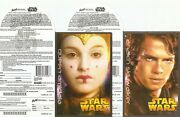 Canada Star Wars Lottery Promo Cards 2005 Complete Test Set Of 12 - Rare