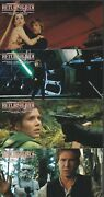 Star Wars 70mm Film Cel Set Of 23 Esb And Rotj Promo Test Cards 1997 Very Rare
