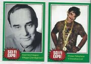 Star Wars Sci-fi Expo 1999 Promo Cards 1 And 2 Biggs And Chewbacca