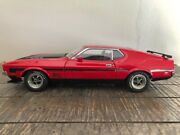 1971 Ford Mustang Mach I Fastback Andndash Autoart 1/18 Scale Diecast Rare Piece Of Art