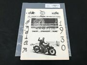 Indian Motorcycle News Chief Scout July 1982 Parts Book Manual P206