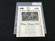 Indian Motorcycle News Chief Scout July 1983 Parts Book Manual P210