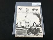Indian Motorcycle News Chief Scout April 1984 Parts Book Manual P212