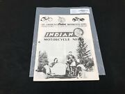 Indian Motorcycle News Chief Scout October 1984 Parts Book Manual P214