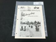 Indian Motorcycle News Chief Scout April 1985 Parts Book Manual P216